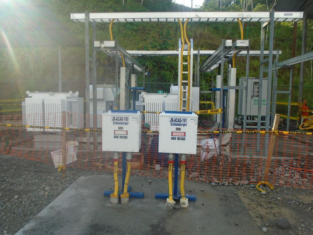 Fotos rea el ctrica company pca mantenimiento industrial - Instalacion electrica vista ...